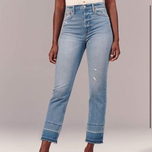 Abercrombie and Fitch Curve Love Jeans